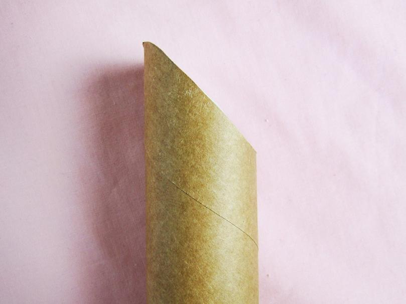cut top of tube DIY project lipstick money box thesmalladventurer