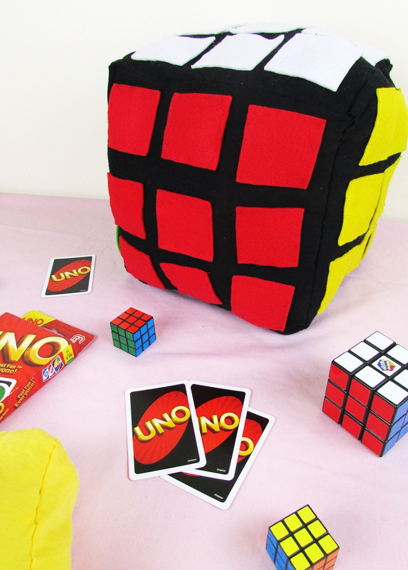 Rubik's Cube DIY project thesmalladventurer