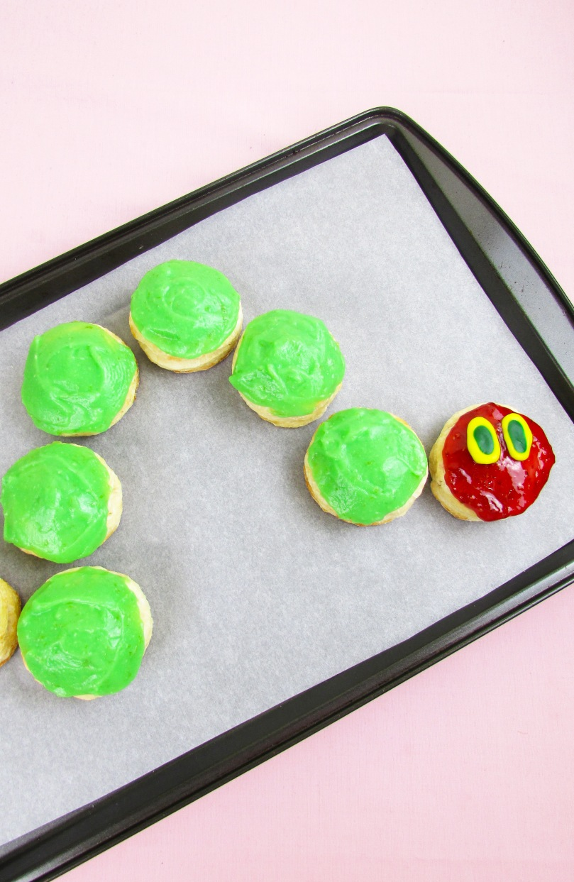 the very hungry caterpillar scones the small adventurer