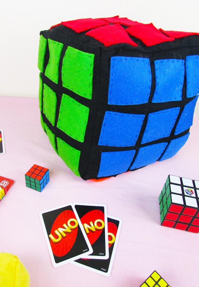 thesmalladventurer DIY project Rubik's Cibe