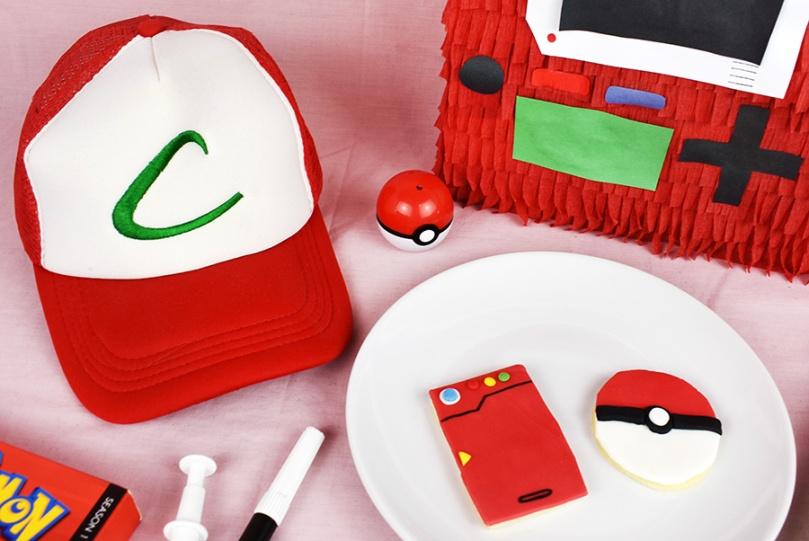 Ash Ketchum hat Pokemon cookies thesmalladventurer