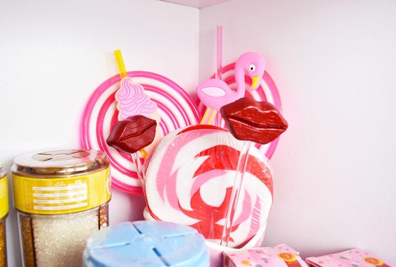dollar sweets shelf