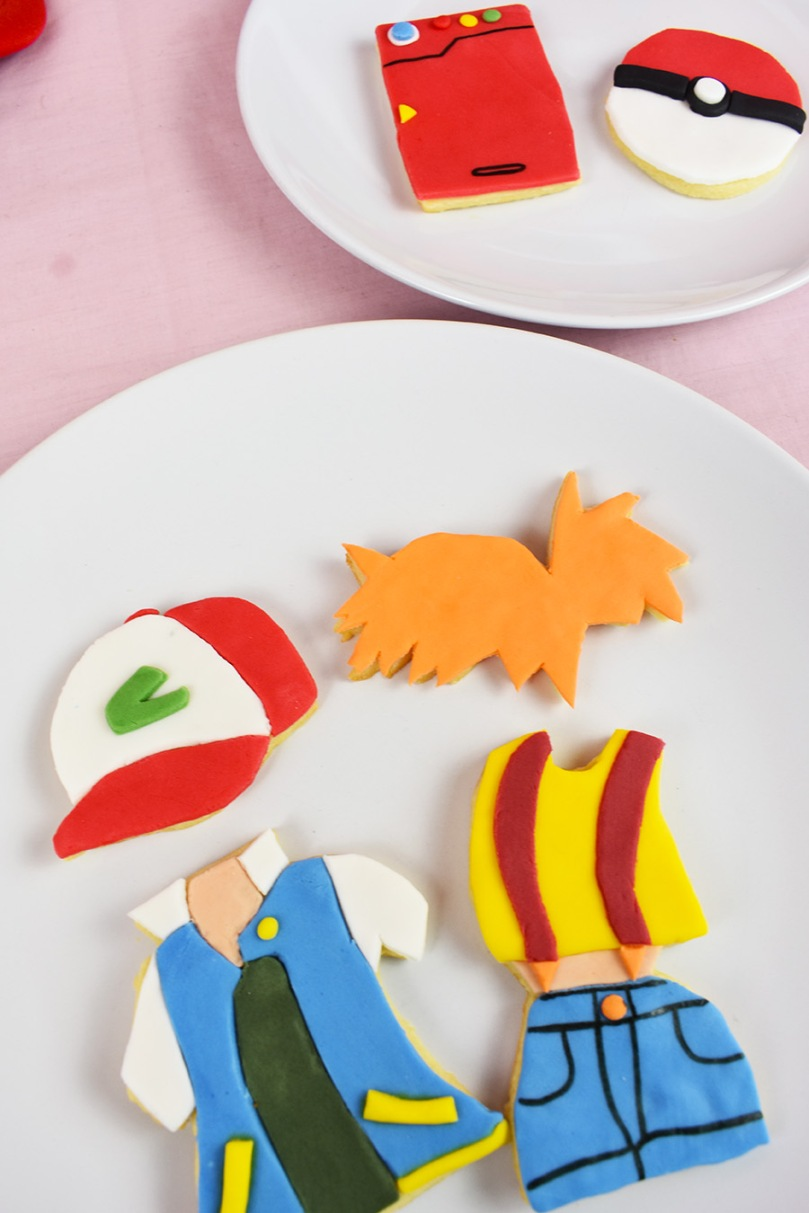 pokemon misty ash cookies thesmalladventurer