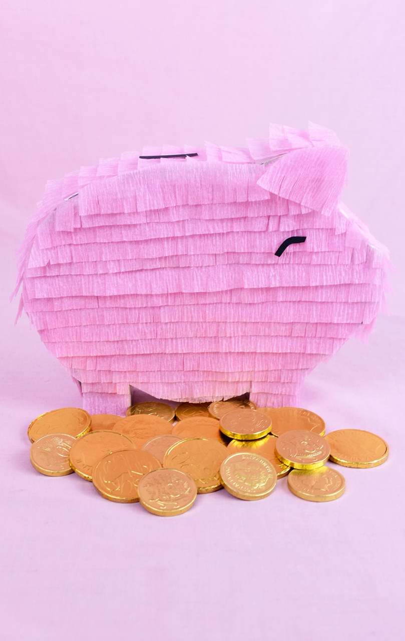 piggy bank pinata diy project thesmalladventurer