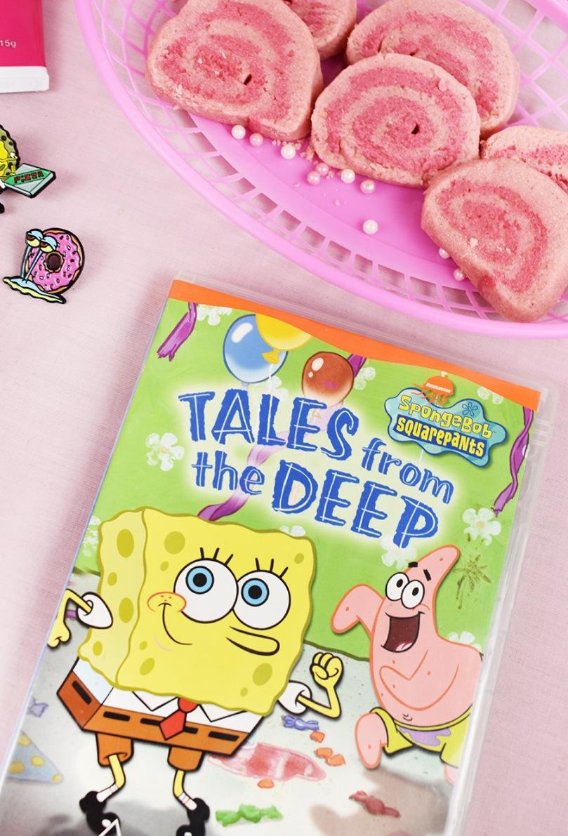 spongebob squarepants dvd cookies thesmalladventurer