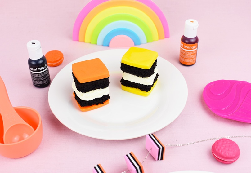 thesmalladventurer petit fours licorice allsorts