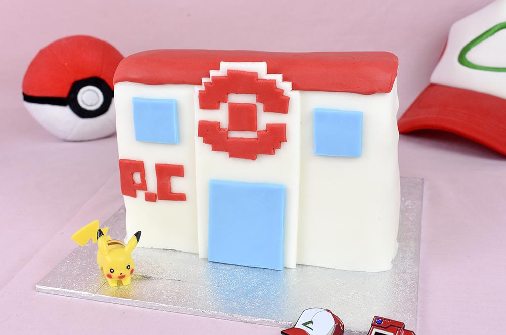 firered pokemon centre cake thesmalladventurer