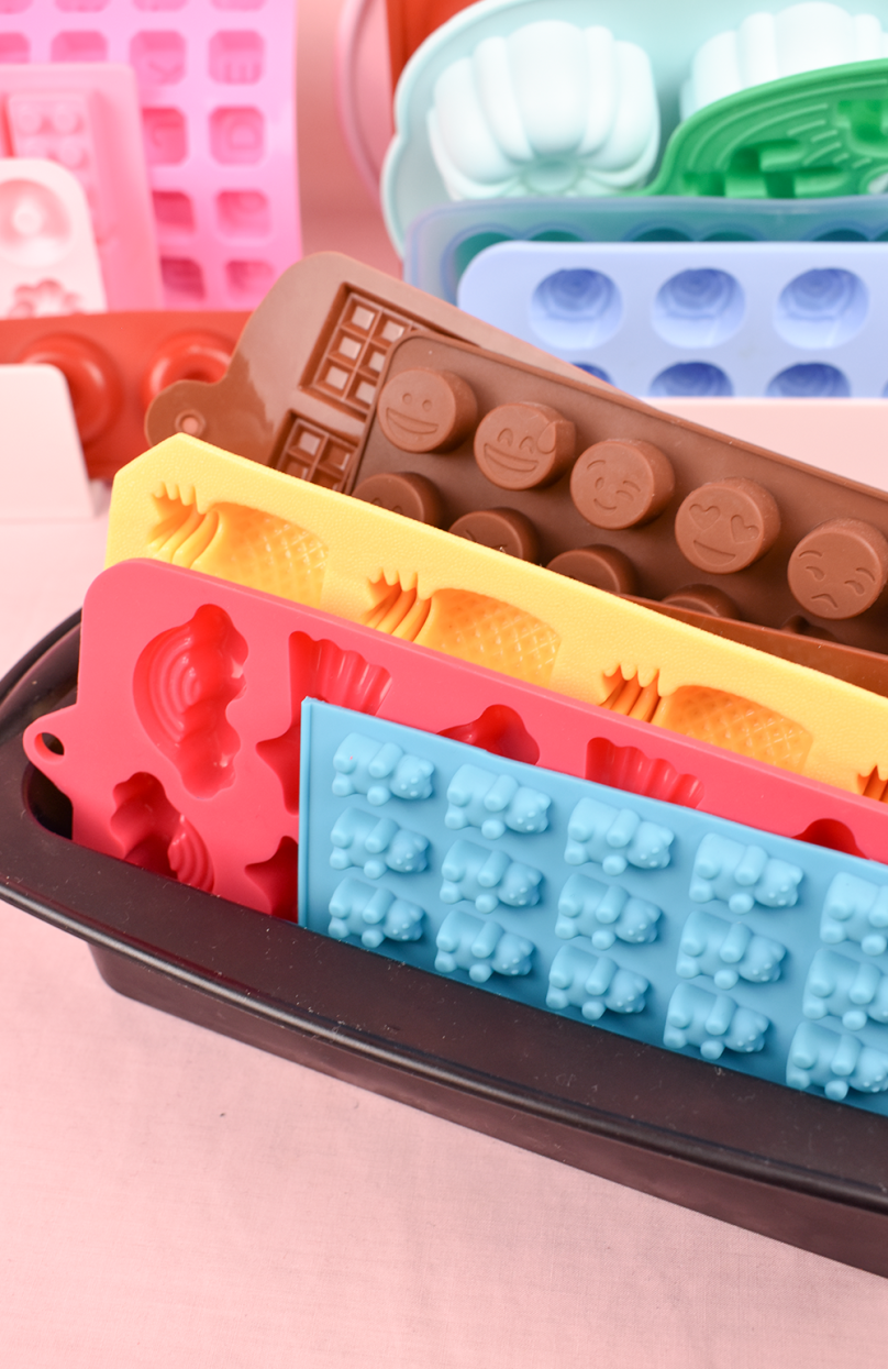 the small adventurer silicon moulds