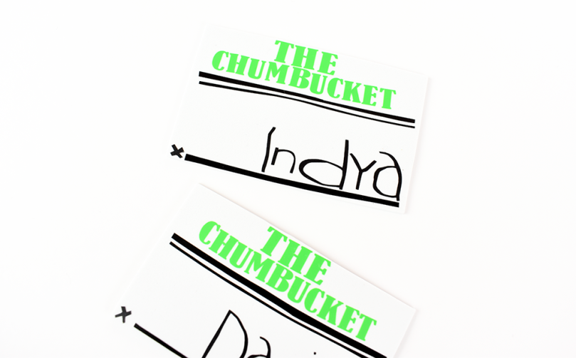 the chumbucket spongebob name tag place card thesmalladventurer
